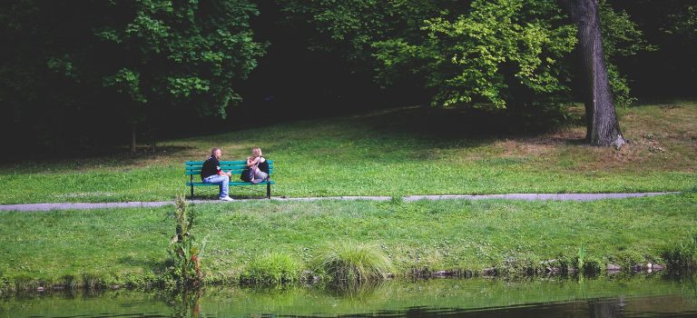 improve communication for marriage that works depicted by couple on bench